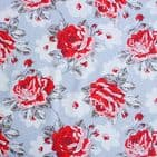 Cath Kidston  Rose Bloom - Curtain Soft Furnishing Cotton Fabric